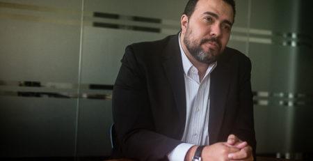 Edgar Gutiérrez retratado por Andrés Kerese